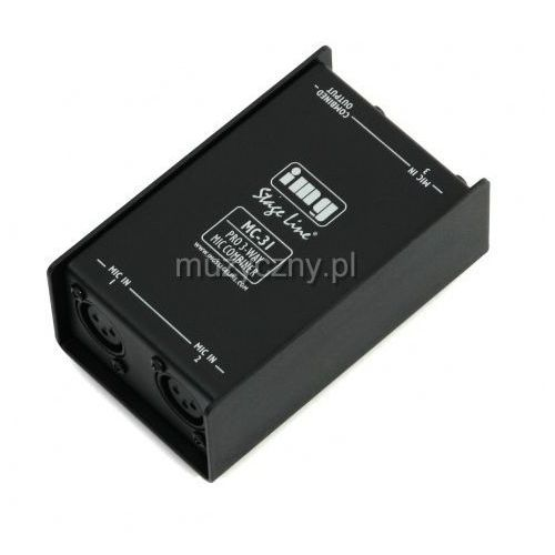 Monacor mc-31 3 liniowy sumator mikrofonowy