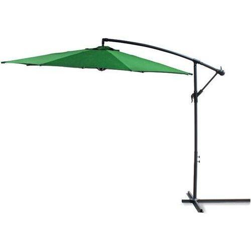 GÜDE Parasol ogrodowy na wysięgniku, zielony, 41159 (parasol ogrodowy) od Avionpark
