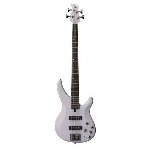 Yamaha TRBX 504 TWH gitara basowa (kolor Translucent White)