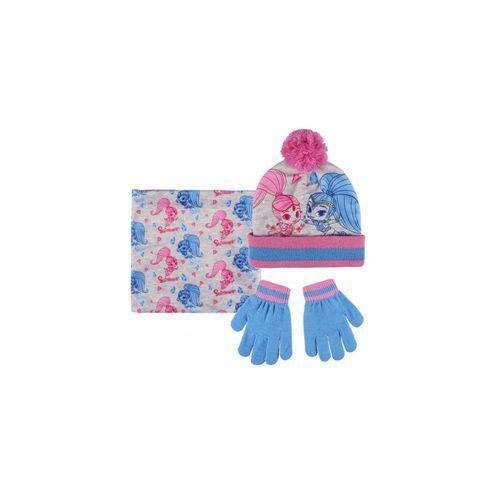 Komplet czapka szalik rękawiczki 3x35bf marki Shimmer