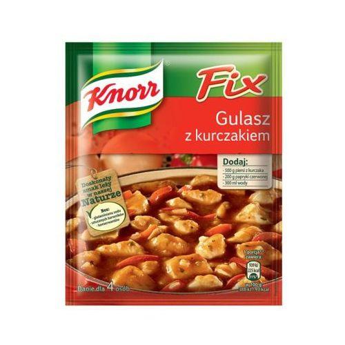 fix 52g gulasz z kurczakiem marki Knorr