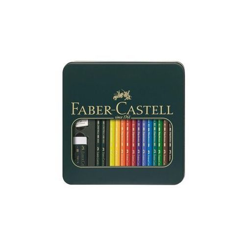 Faber Castell Faber-Castell Polychromos & Castell 9000 - coloured pencil and pencil set (4005401100409)