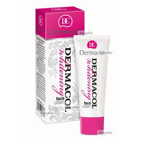 whitening wybielający krem do twarzy przeciw przebarwieniom skóry (day and night whitening face cream) 50 ml marki Dermacol