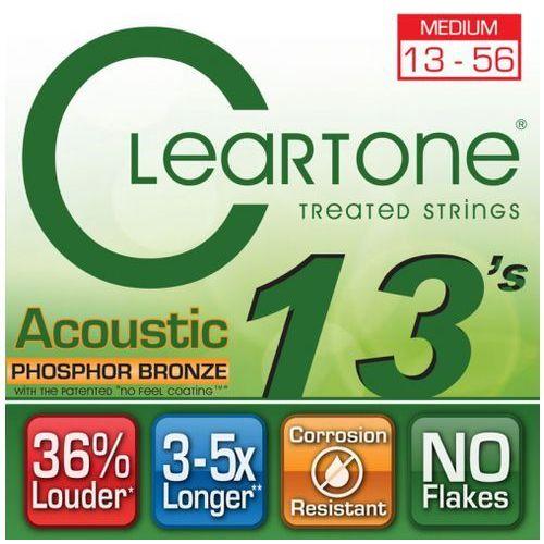 struny do gitary akustycznej 13-56 phospore bronze marki Cleartone