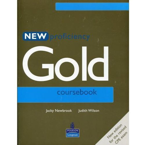New Proficiency Gold Student&-8217;s Book, oprawa miękka