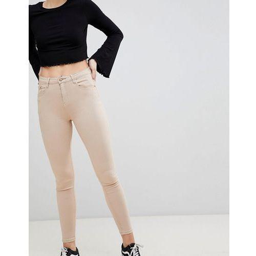 skinny jeans - beige marki Glamorous