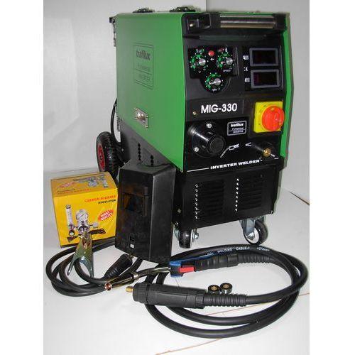 TRAFILUXMIG 330 4X4INVERTER Półautomat MIG 330 4x4 z kategorii migomaty i półautomaty spawalnicze