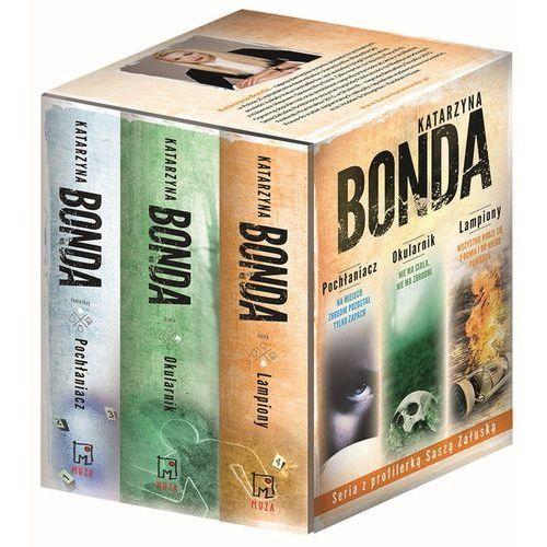 Pakiet Bonda. Pochłaniacz, Okularnik, Lampiony. Pakiet - Katarzyna Bonda, Katarzyna Bonda