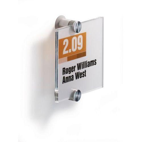 Durable Tabliczka informacyjna 105 x 105 mm crystal sign - x07937
