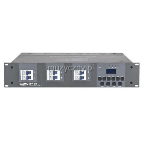 Showtec 50901s ddp-616 6ch schuko digital dimming pack