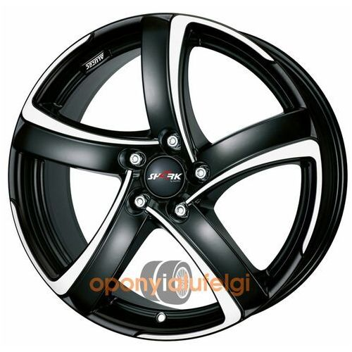 Alutec SHARK RACING BLACK FRONTPOLISHED 7.00x16 5x100 ET38