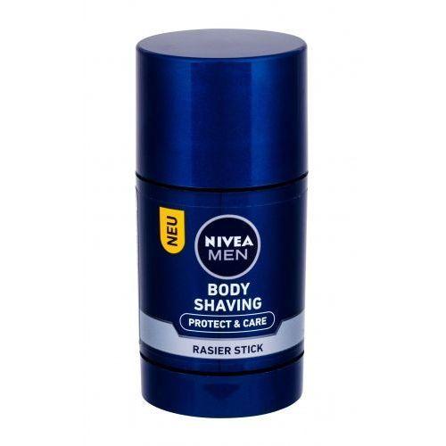 men protect & care body shaving krem do golenia 75 ml dla mężczyzn marki Nivea
