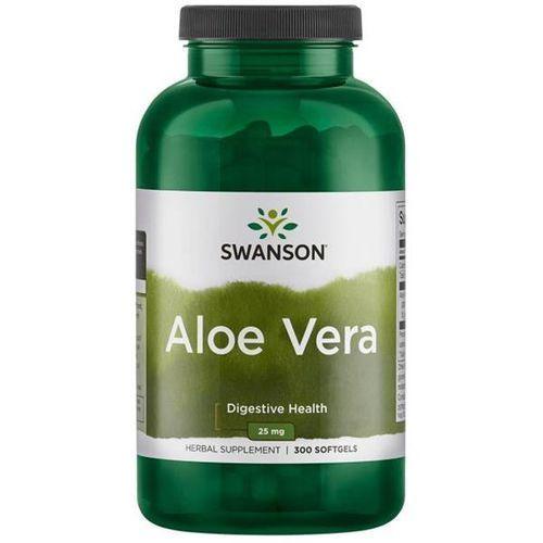 Kapsułki Swanson Aloes (Aloe Vera) 25 mg 300 kapsułek