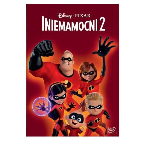 Brad bird Iniemamocni 2 (dvd) (płyta dvd) (7321917506809)