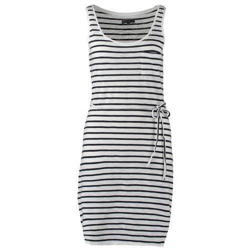 Zalando Essentials Sukienka z d�erseju bia�y