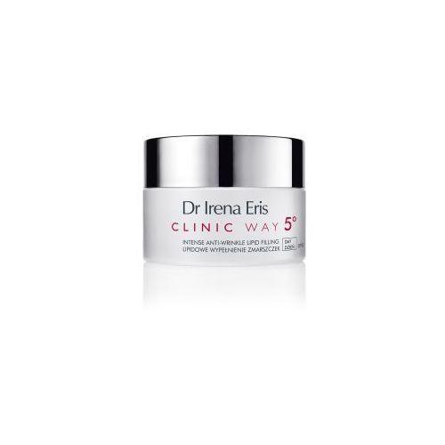 Lipidowe wypełnienie zmarszczek dermokrem do twarzy i pod oczy 5° na dzień marki Dr irena eris