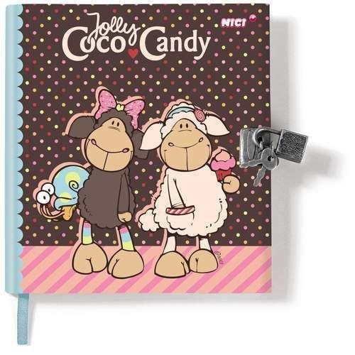 Pamiętnik Jolly Coco na kłódkę