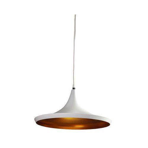 Azzardo Lampa wisząca chink white/gold lp6002-l wh/go - + led - autoryzowany dystrybutor azzardo (5901238413424)