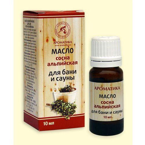 Aromatika Kompozycja olejków naturalnych do sauny i łaźni parowej sosna alpejska, 10 ml