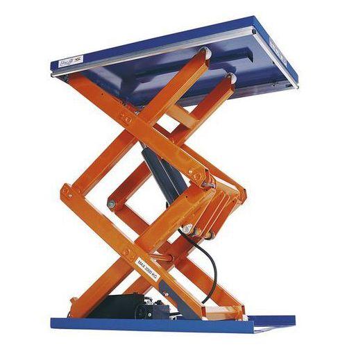 Unbekannt Kompaktowy stół podnośny,nośność 2000 kg, podwójne nożyce