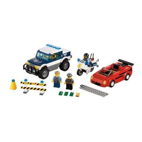 Lego City SUPERSZYBKI POŚCIG 60007 z kategorii: klocki dla dzieci