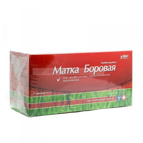 Gruszynka jednostronna (borowa matka), herbata 25 saszetek x 2 g marki Fbt