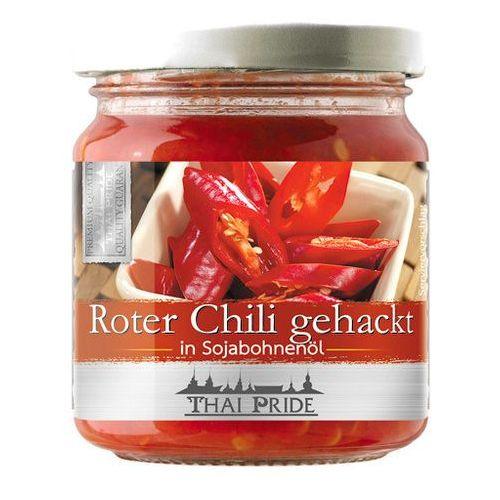 Thai pride Czerwone chili siekane w oleju sojowym 180g -