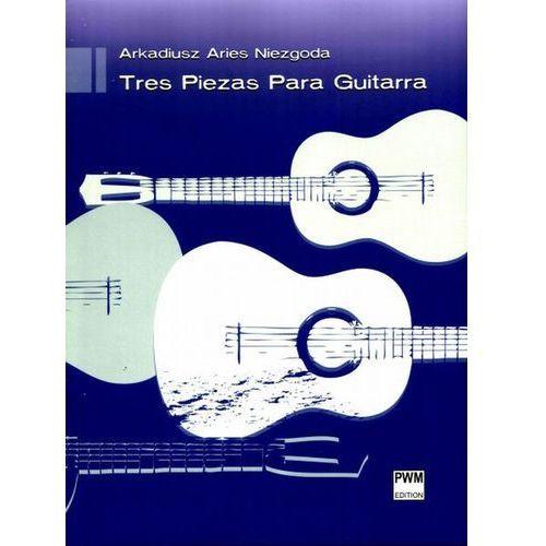 Tres Piezas Para Guitarra. Darmowy odbiór w niemal 100 księgarniach! (9790274007812)