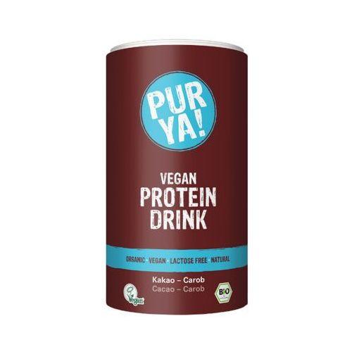 PUR YA! 550g Vegan Protein Drink Napój białkowy w proszku z kakao i karobem BIO