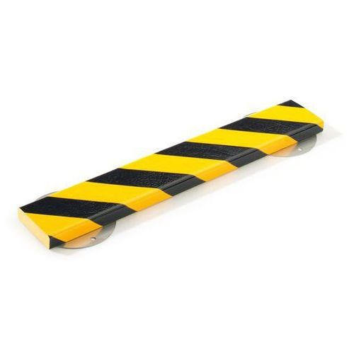 Profil ostrzegawczy i ochronny knuffi®,dł. 1000 mm, przekrój: prostokątny, duży marki Shg pur-profile