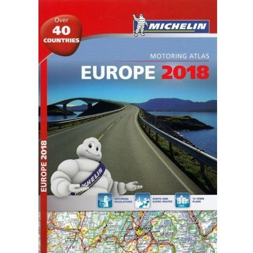 Europe 2018 - Tourist and Motoring Atlas (A4-Spiral) (9782067227750)