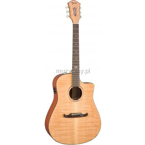 t-bucket 400-ce flame maple natural gitara elektroakustyczna marki Fender