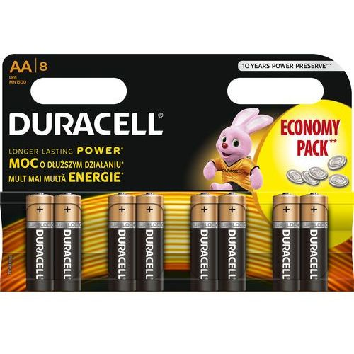 Bateria DURACELL Basic LR6/AA (8 szt.)