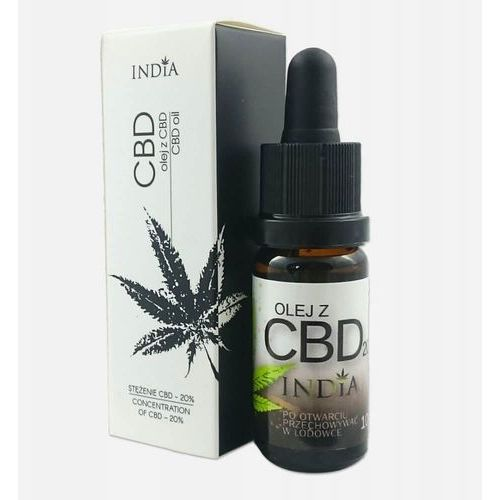 India cosmetics Olej z cbd 20% 10ml - (5905669213172)