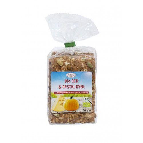 Chleb chrupki BIO ser i pestki dyni pełnoziarnisty 150g Benus (4100550403507)