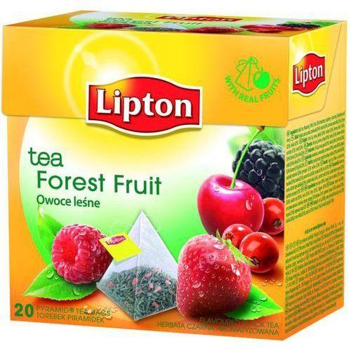 Herbata LIPTON piramidki 20 t. owoce leśne - X03972