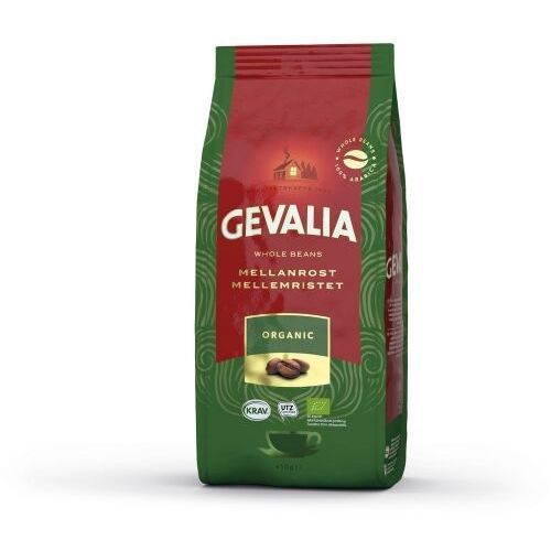 - eko - organic (dawniej ekologisk) - kawa ziarnista - 450g - paczka marki Gevalia