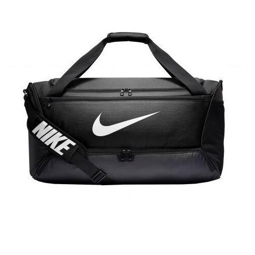 Nike torba sportowa 'brsla m duff - 9.0' czarny / biały (0193145974180)