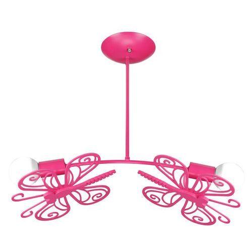 Lampa wisząca LIGHT PRESTIGE Motylek LP-14030/2P Różowy + DARMOWY TRANSPORT!, LP-14030/2P