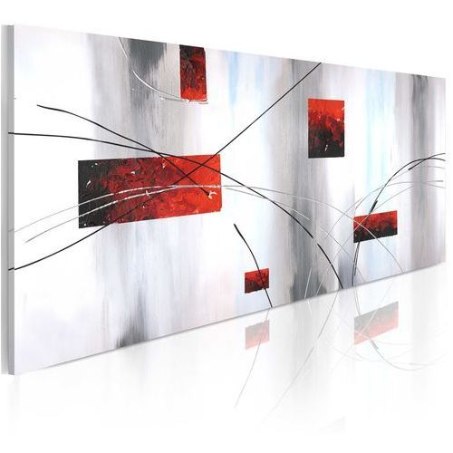 Obraz malowany - geometryczna manifestacja marki Artgeist