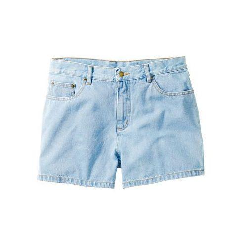 Szorty dżinsowe jasnoniebieski, Bonprix