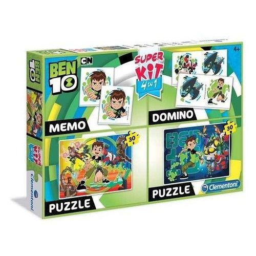 Superkit 2x30 elementów Memo Domino Linia Specjalna Ben 10