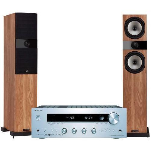 Onkyo Zestaw stereo tx-8250s + fyne audio f303 dąb + darmowy transport!