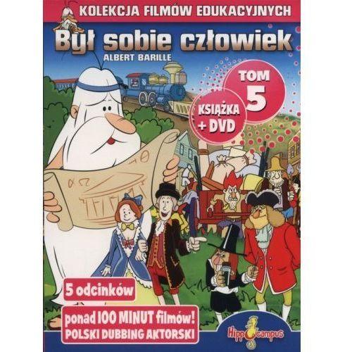 Hippocampus Był sobie człowiek książka+dvd tom 5 - praca zbiorowa (płyta cd) (9788362890033)