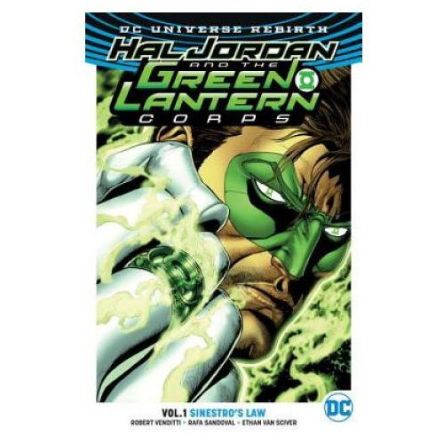 Hal Jordan and the Green Lantern Corps Vol. 1 Sinestro's Law (Rebirth) (9781401268008)