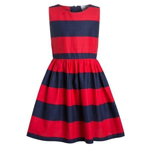 happy girls Sukienka letnia red (sukienka dziecięca)