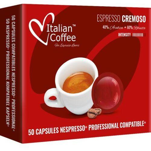 Nespresso kapsułki Cremoso kapsułki kompatybilne z systemem nespresso professional – 50 kapsułek (8054890315852)
