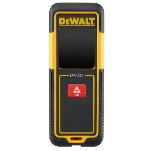 Dalmierz laserowy DEWALT zasięg 30m DW033-XJ- natychmiastowa wysyłka, ponad 4000 punktów odbioru! (5035048657676)