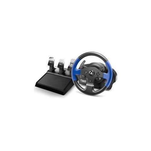 Kierownica t150 pro pro ps4, ps3, pc + pedály (4160696) czarny marki Thrustmaster