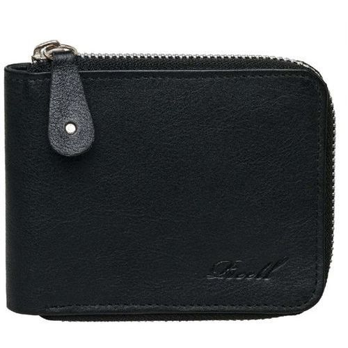 portfel REELL - Zip Leather Wallet Black (BLACK) rozmiar: OS